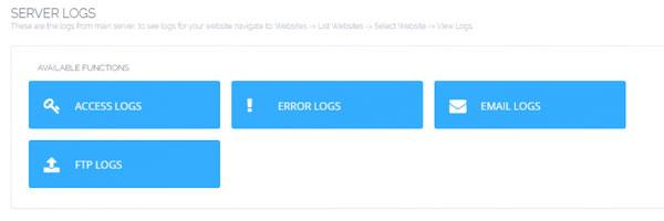 Access logs on CyberPanel