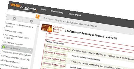 Configure Server Firewall