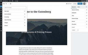 Th Gutenberg Editor